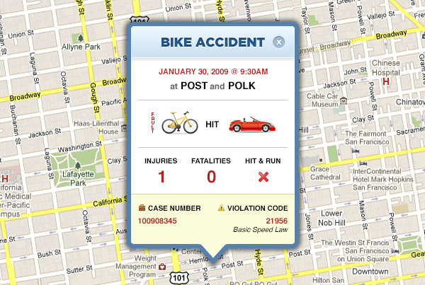 Bike Accident Tracker