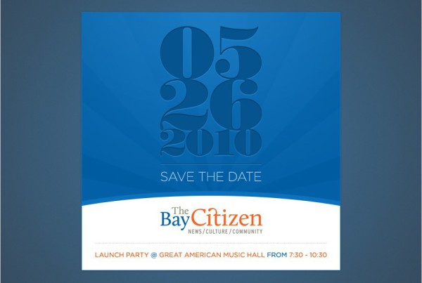The Bay Citizen Save the Date